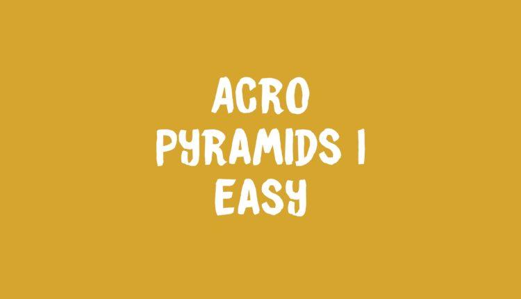Acro Pyramids 1 banner