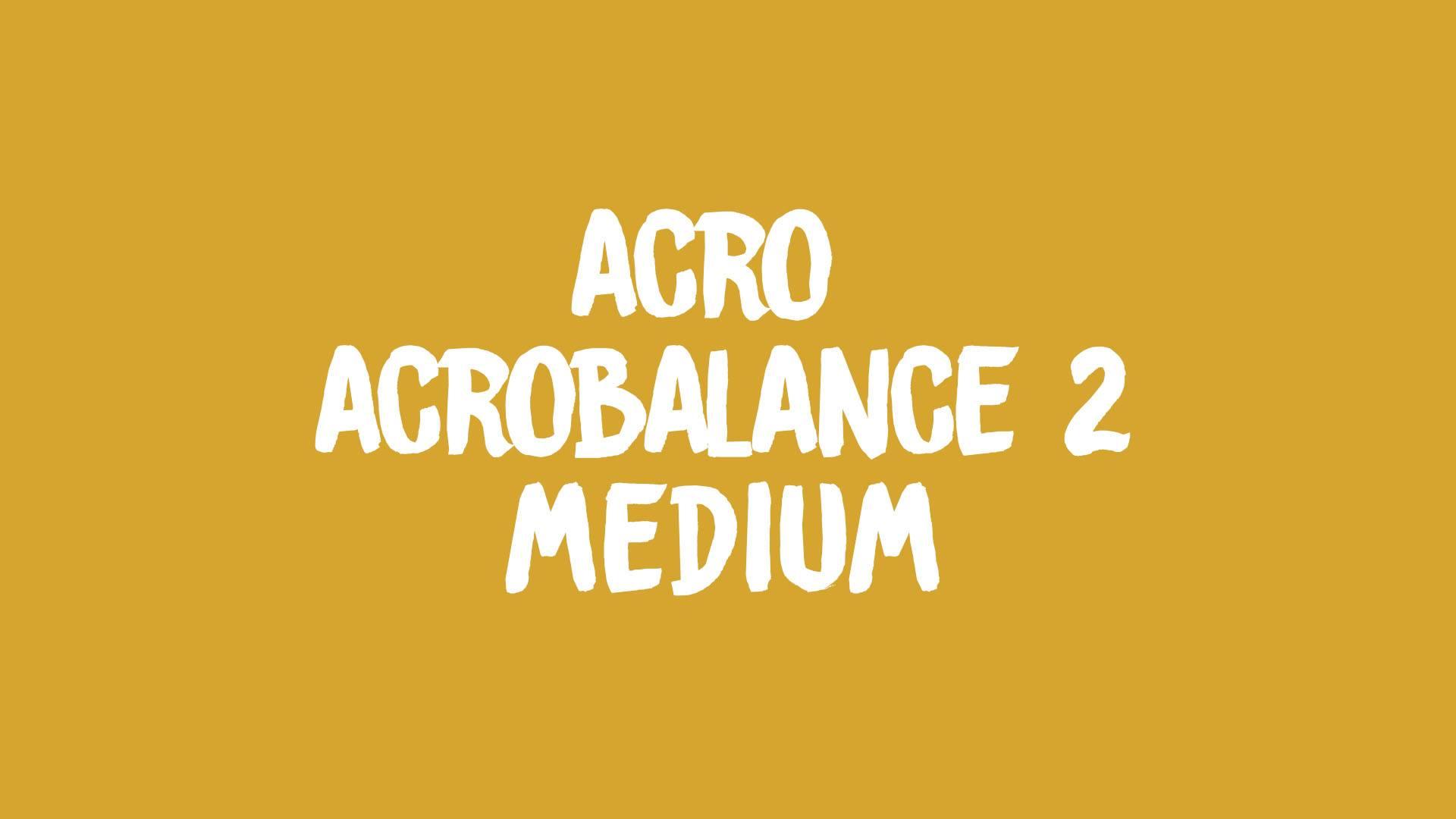 Acrobalance 2 banner