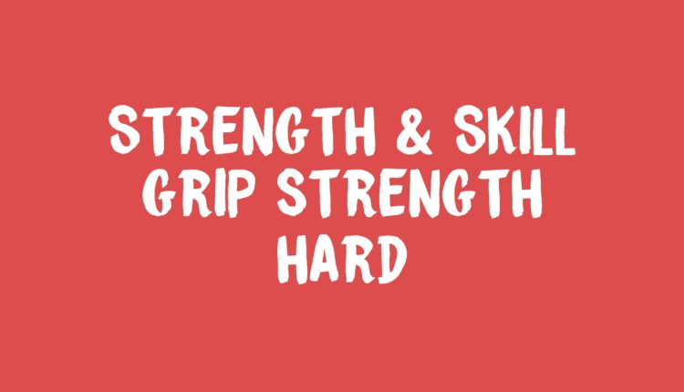 Grip Strength banner