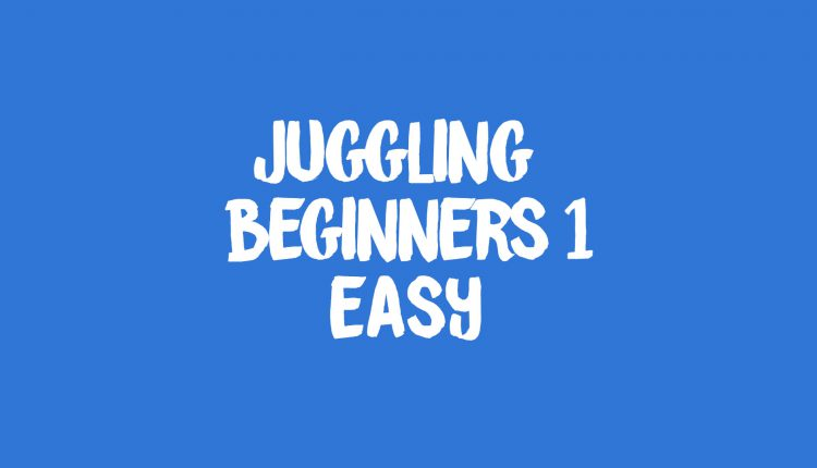 Beginners Juggling 1