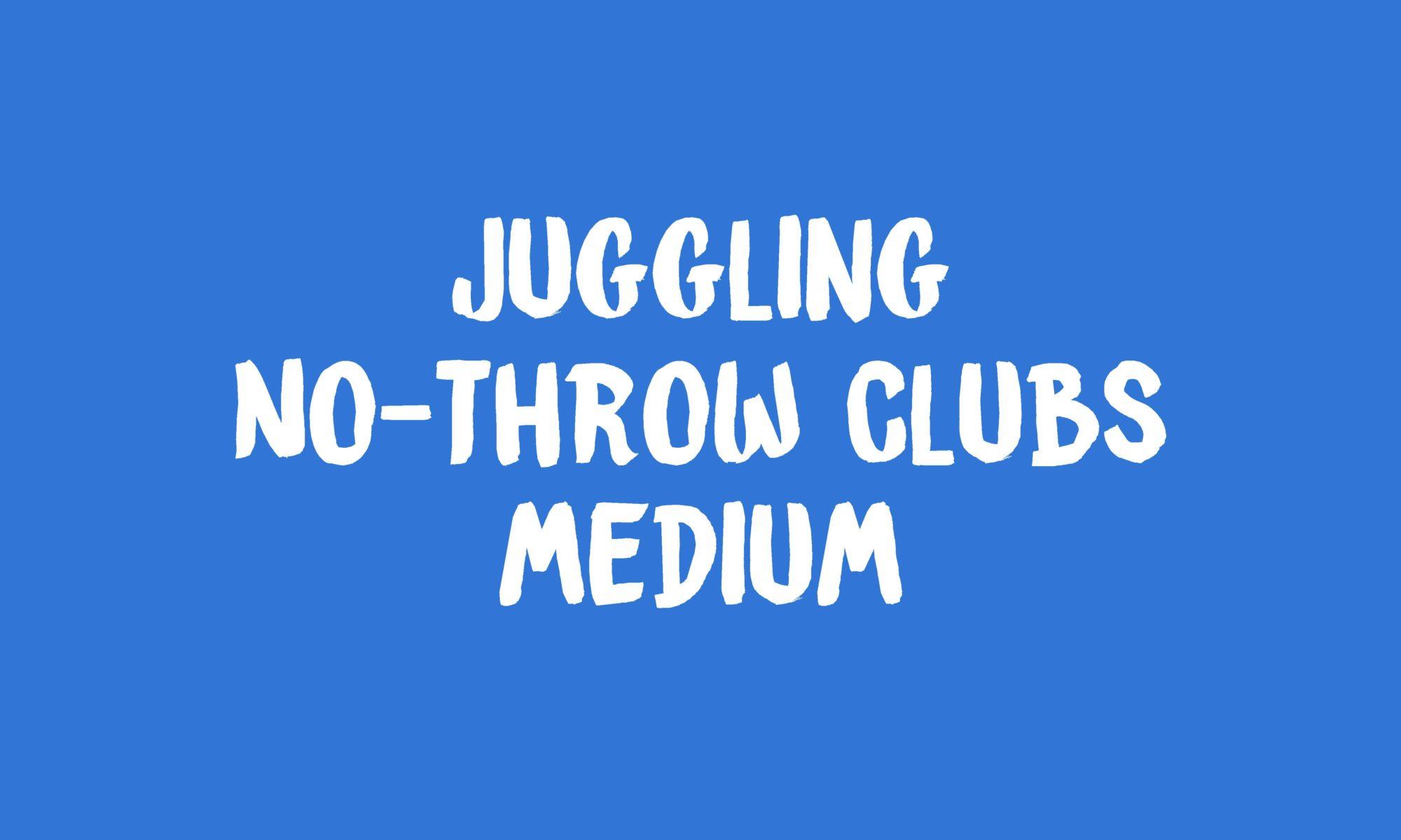 No Throw Clubs banner