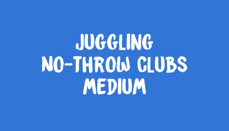 No Throw Clubs banner