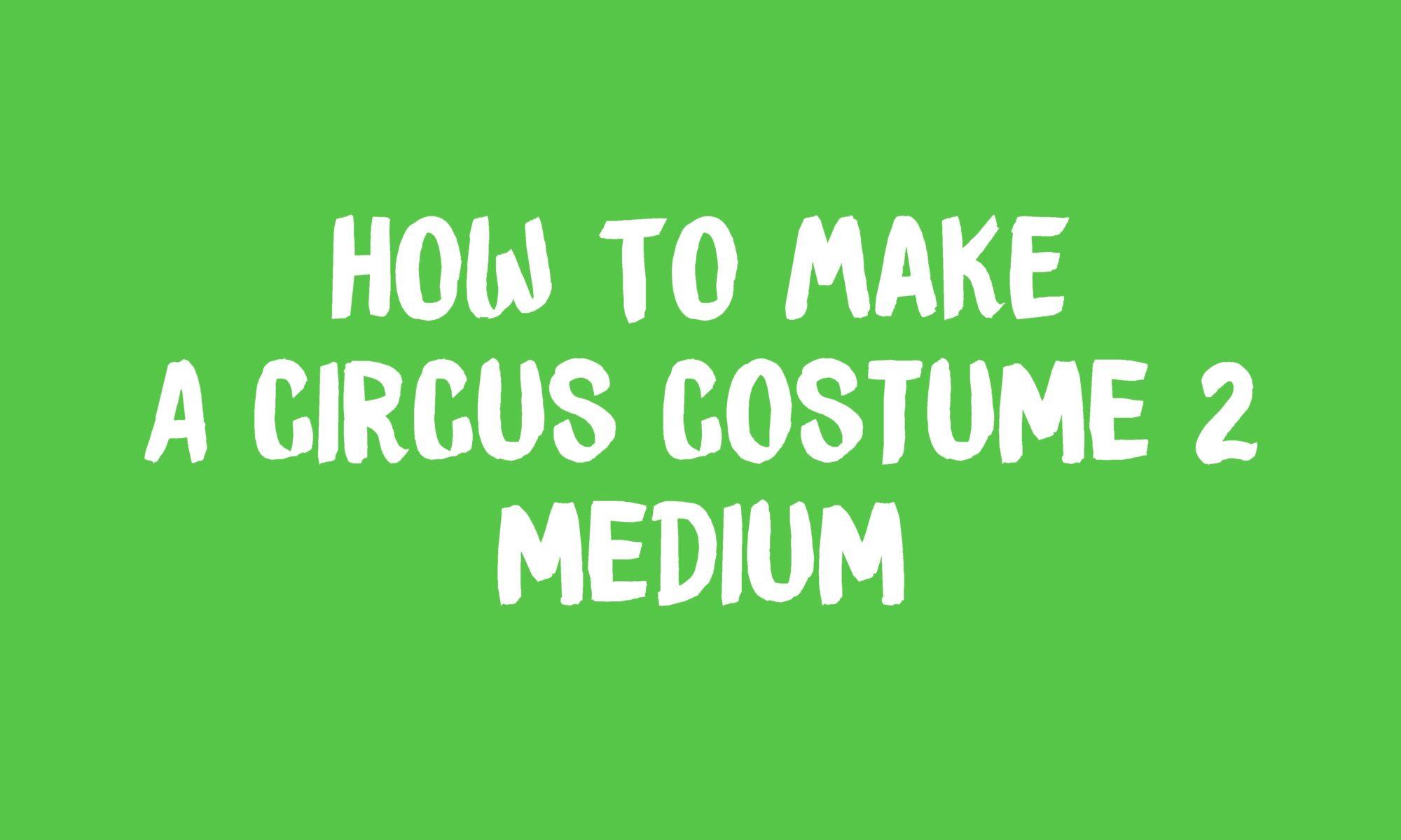 Circus costume 2 banner