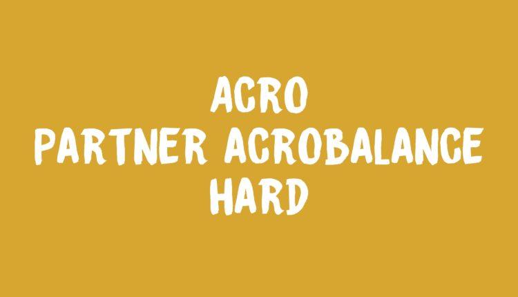 Partner Acrobalance Banner