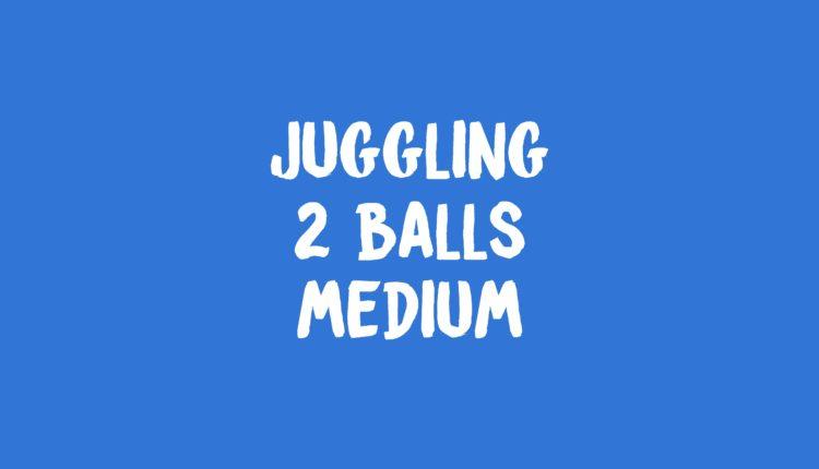 juggling 2 balls banner
