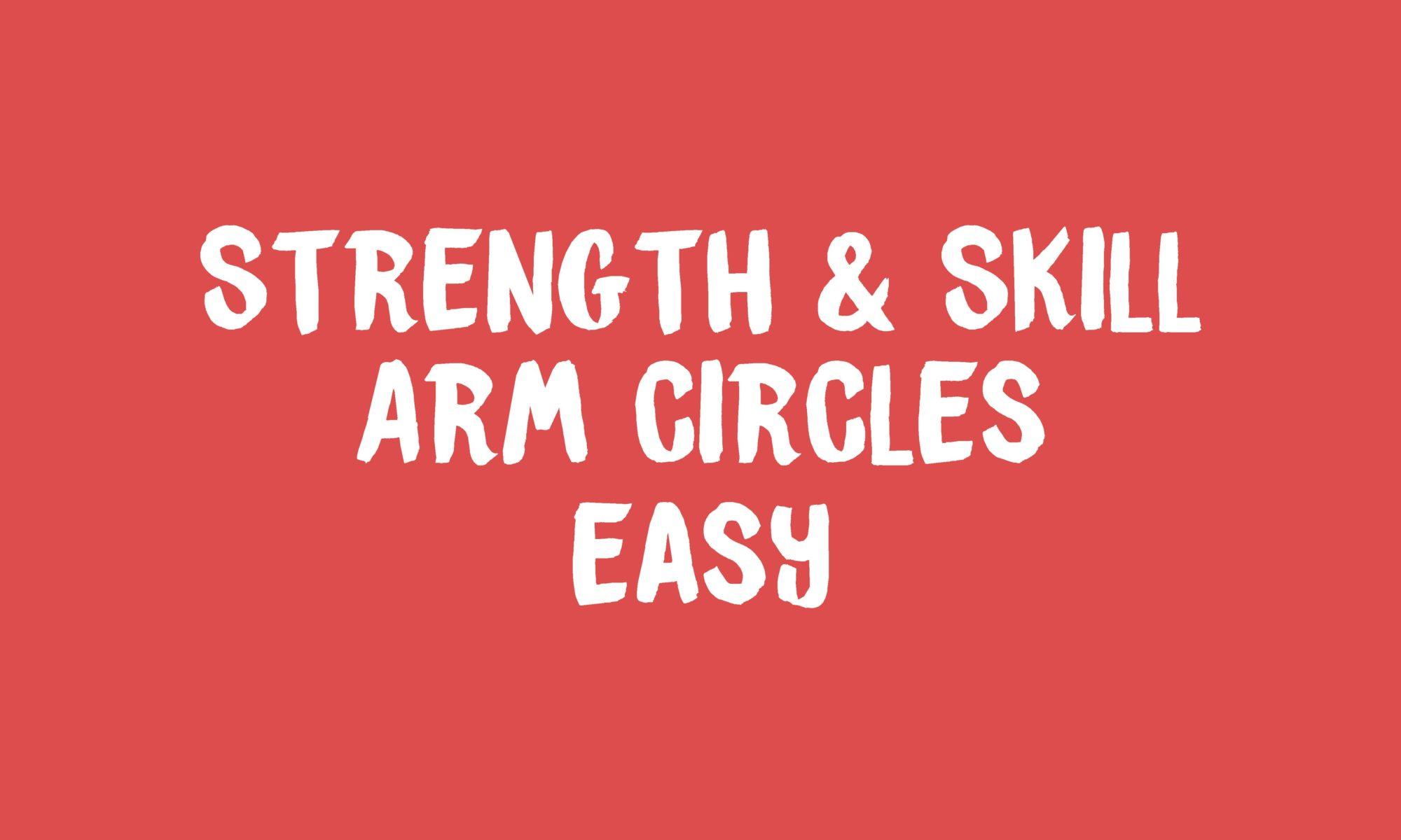 Arm Circles Banner