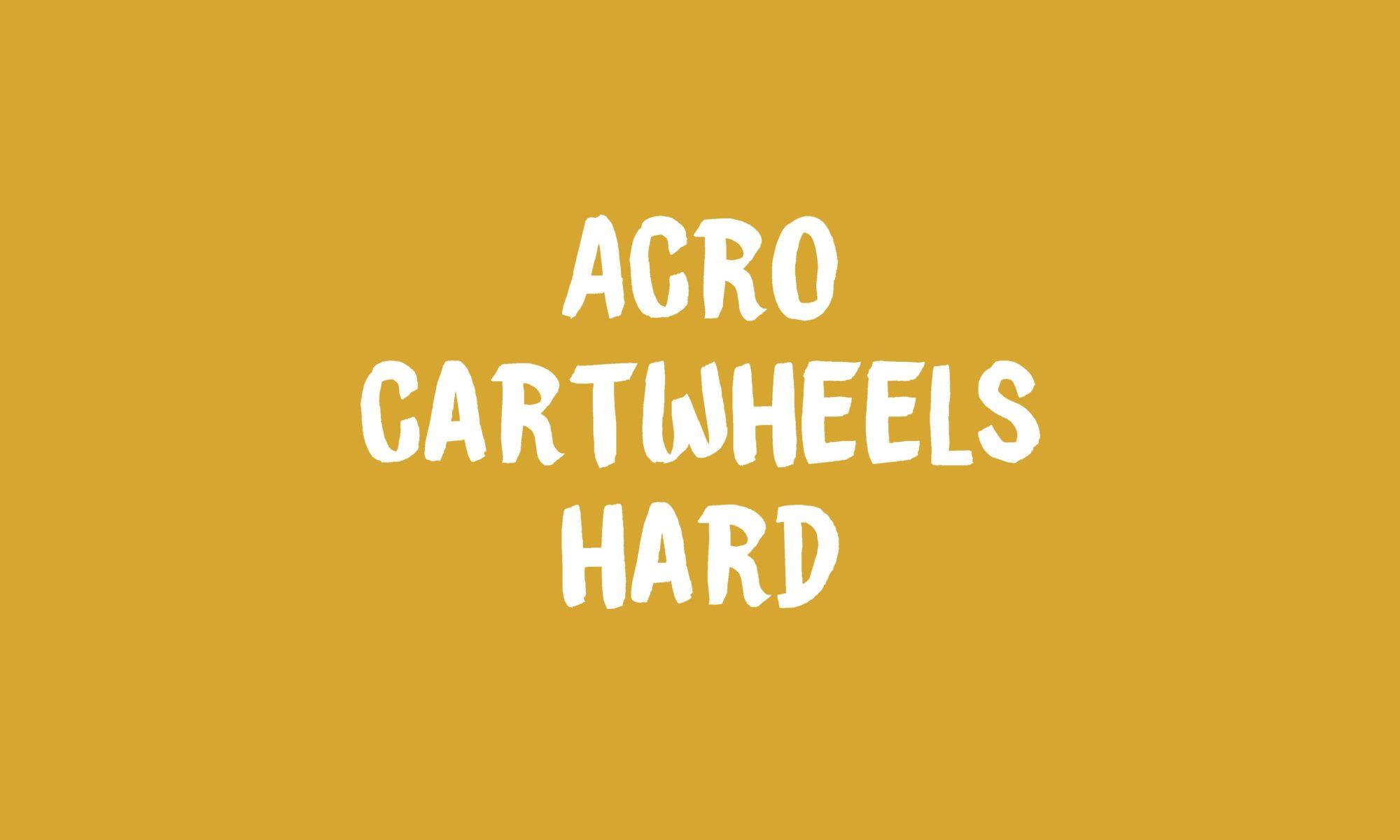 Cartwheels banner