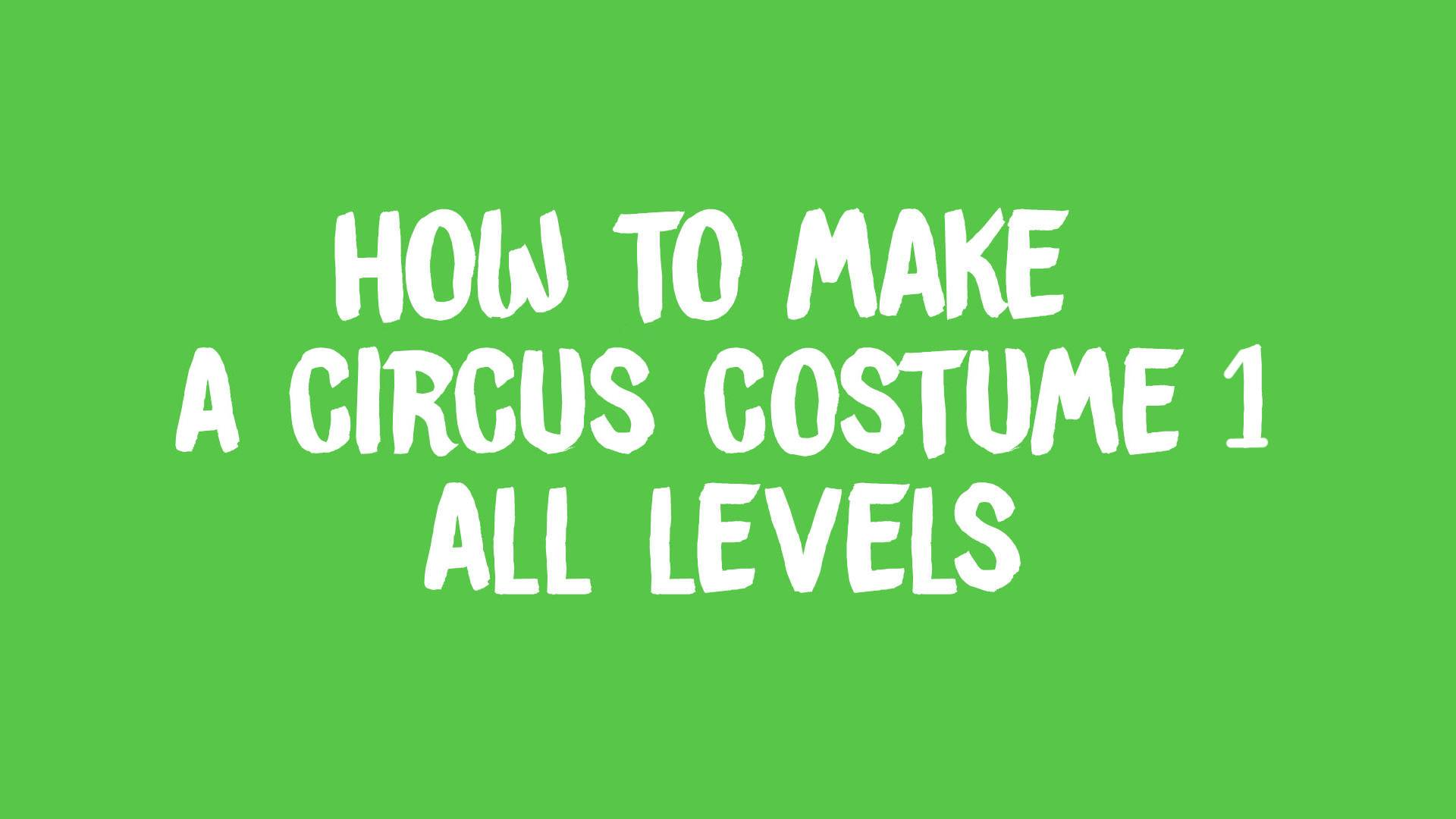 circus costume 1 banner