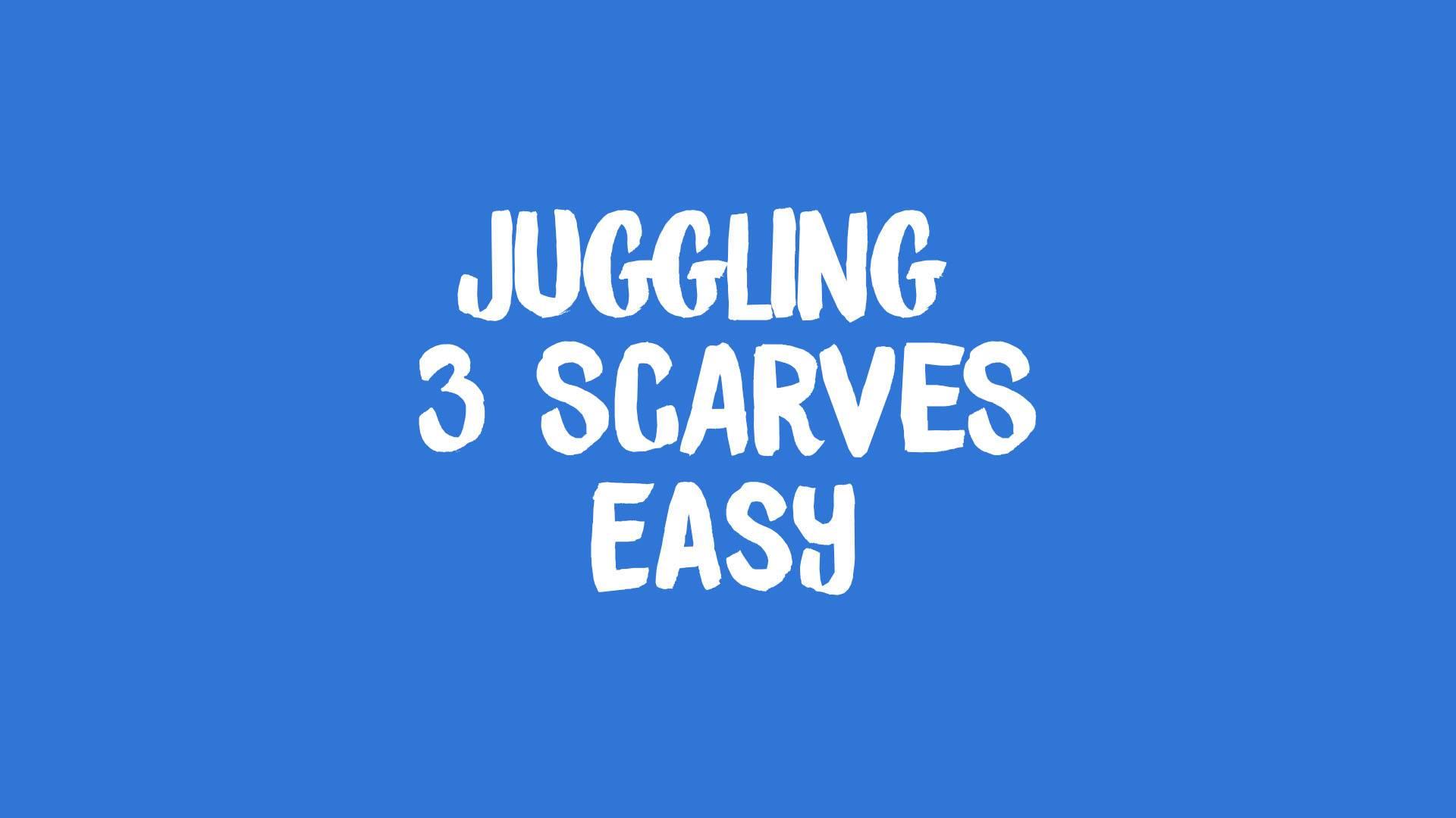 juggling 3 scarves banner