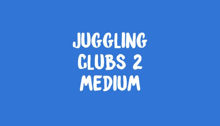 Juggling Clubs 2 Banner