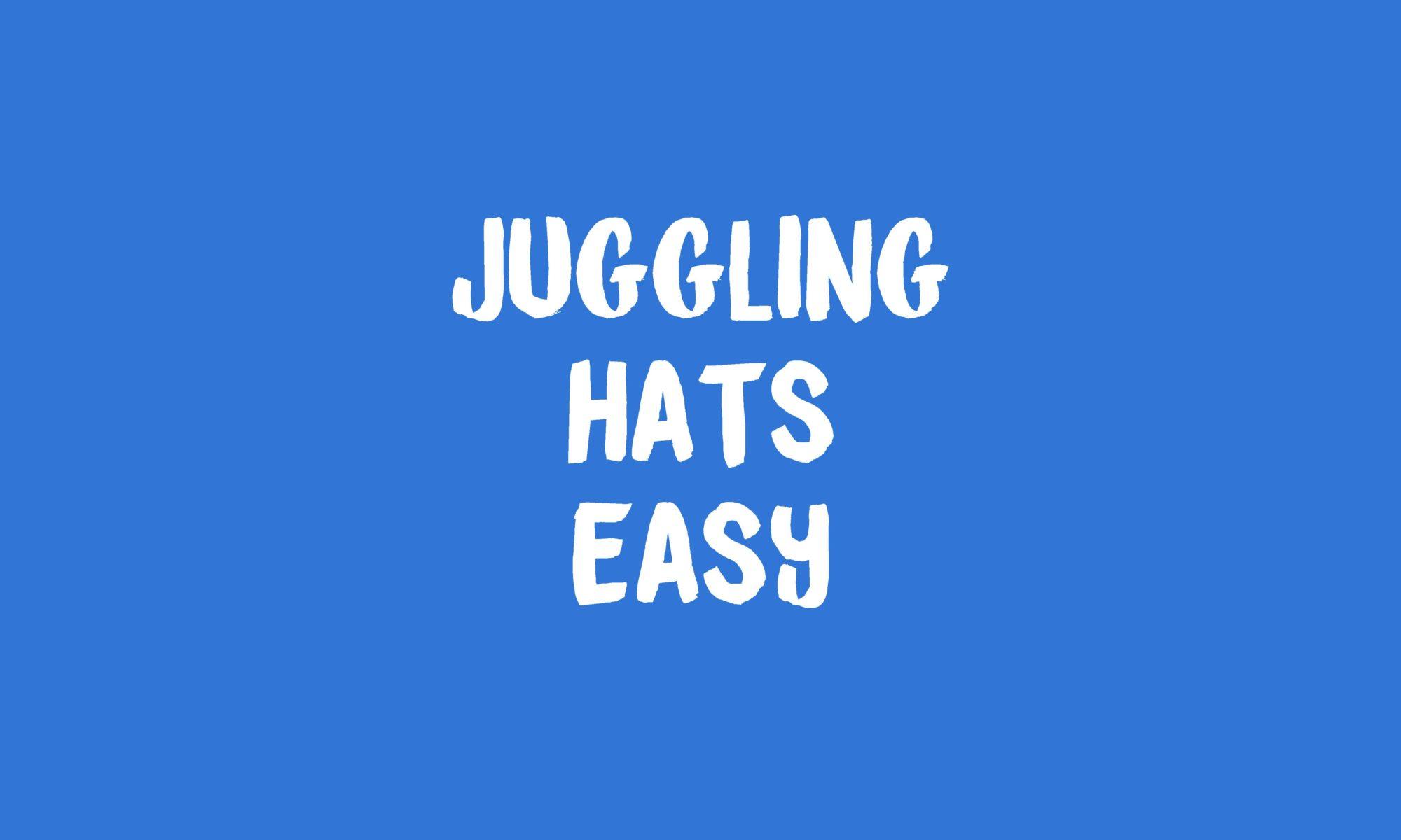 Juggling Hats Banner