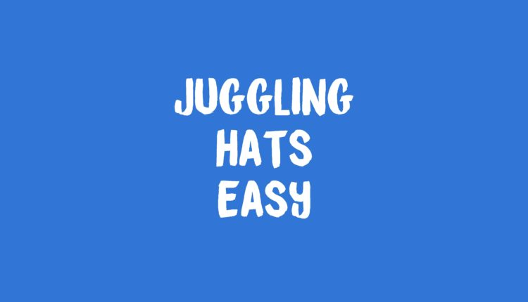 Juggling Hats Banner