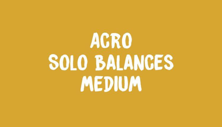 Acro Solo Balances Banner