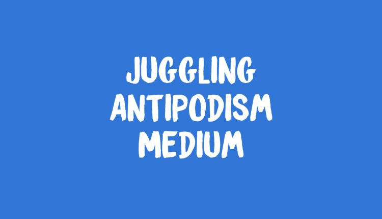 Juggling Antipodism Banner