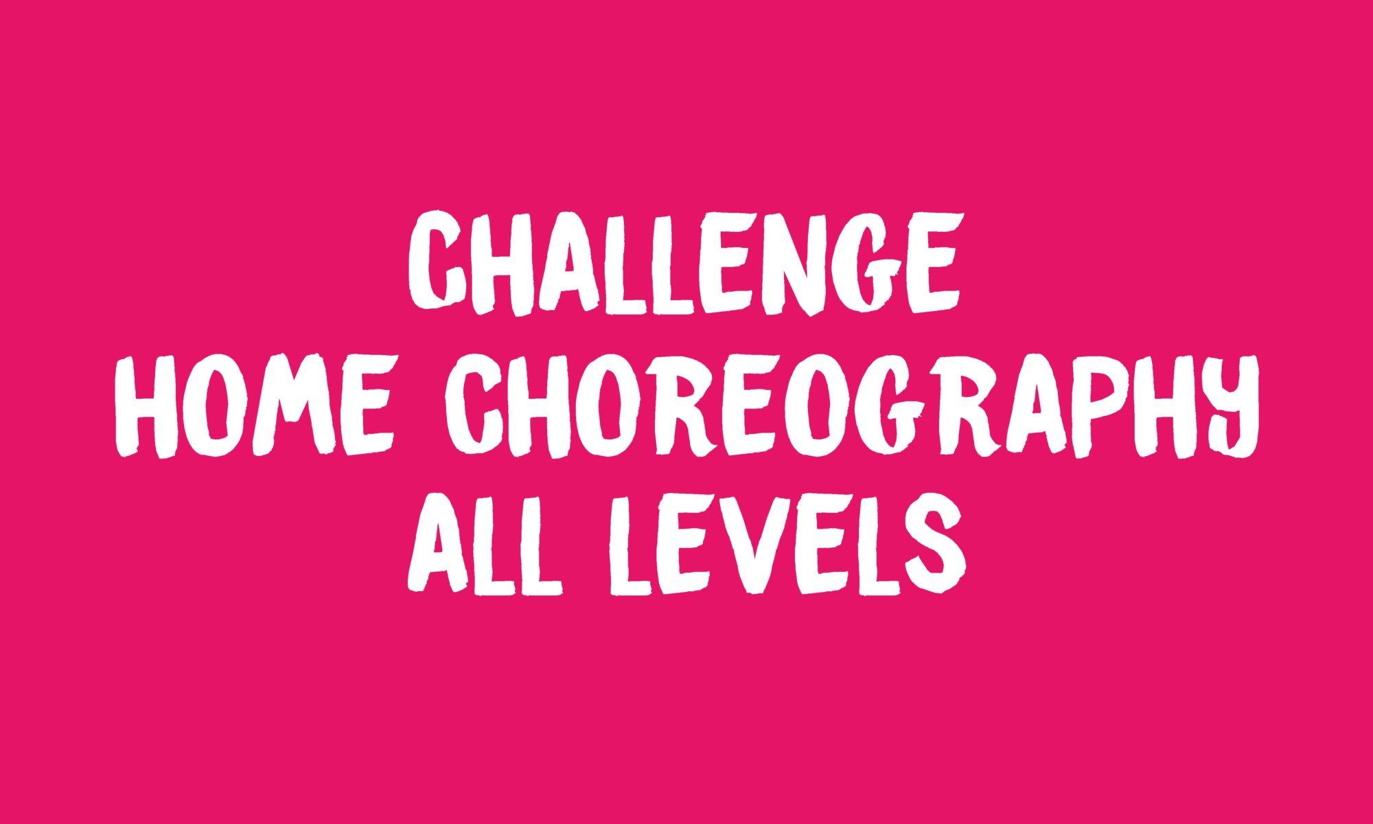 Challenge Home Choreography Banner