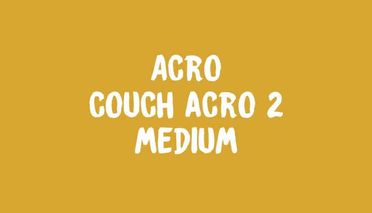 Acro Couch Acro 2 Banner