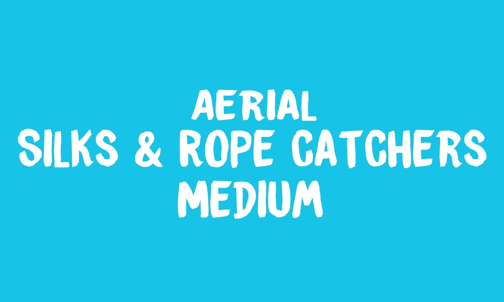 Aerial Silks & Rope Catchers Banner
