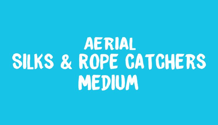 Aerial Silks & Rope Catchers Banner