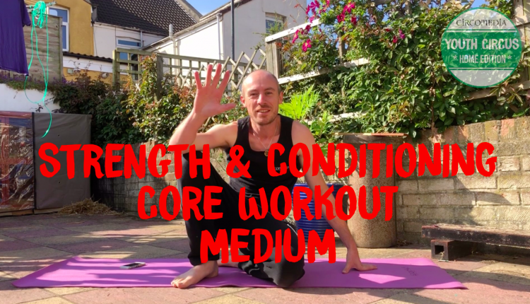 Core Workout Banner
