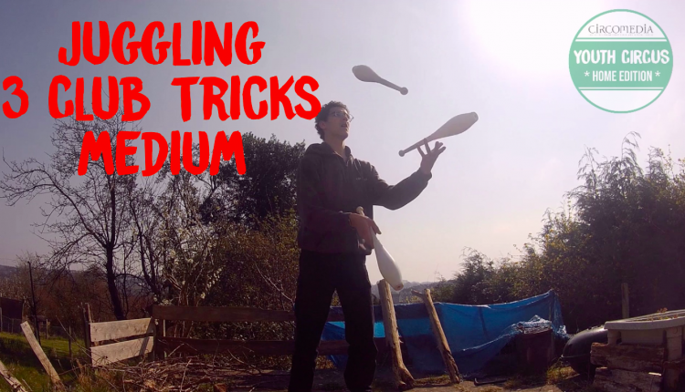 Juggling Club Tricks Banner