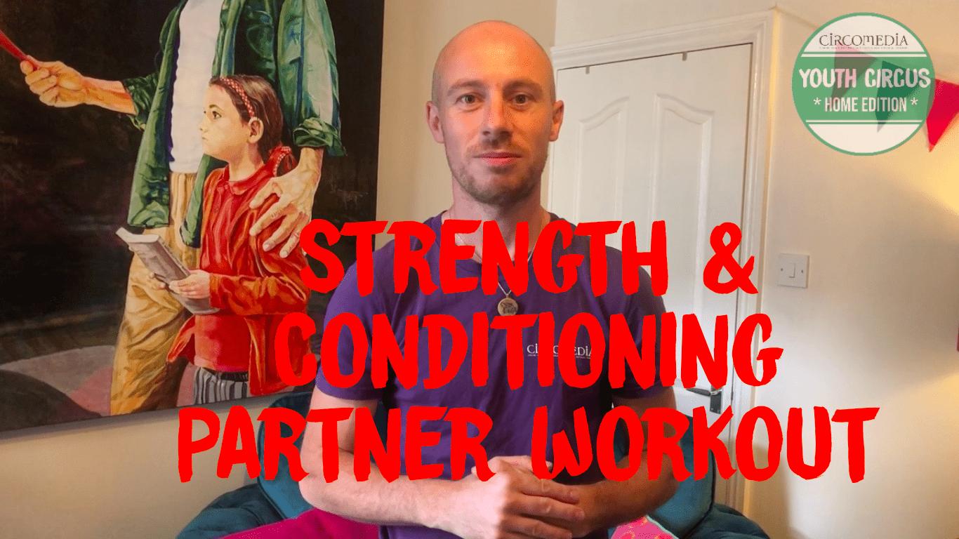 Strength & Skill Partner Conditioning Banner