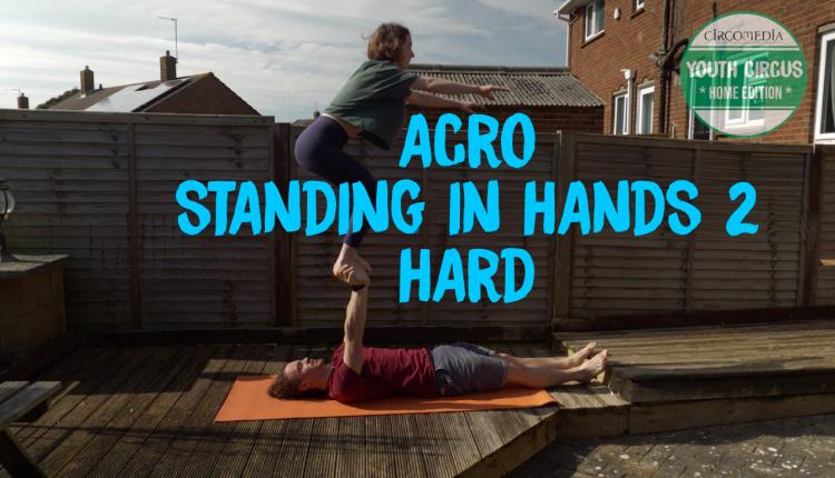 Standing in hands 2 Banner