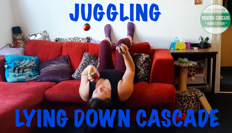 Juggling Lying Down Cascade Banner