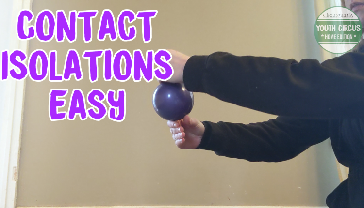 Juggling: Contact Ball Isolations banner