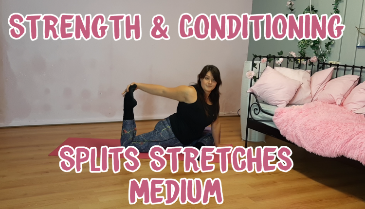 Strength & Conditioning: Splits Stretches banner