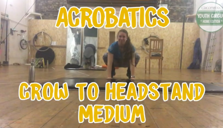 Acro Crow To Headstand Banner