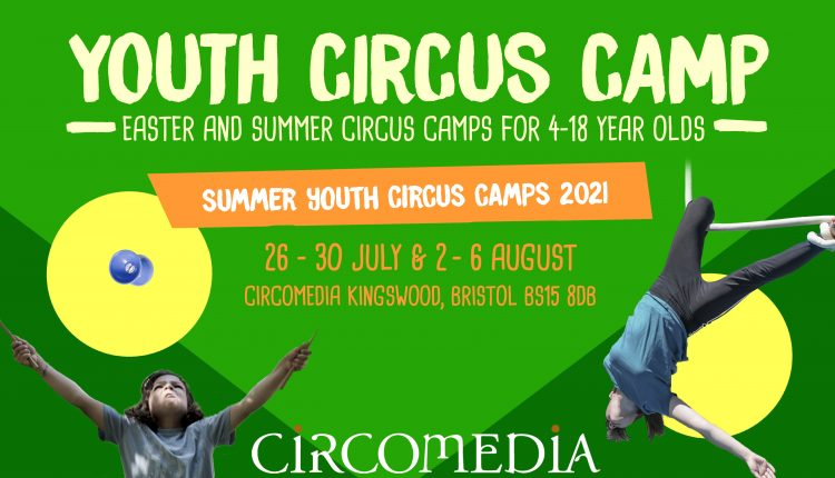 Summer Youth Circus Camp 2021