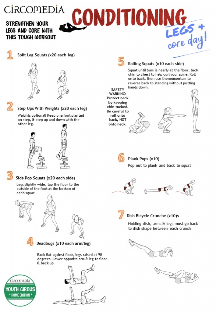 Home Edition Activity Pack 6 Legs & Core